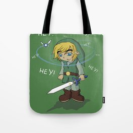 The Legend of HEY! Tote Bag