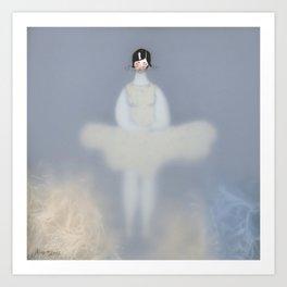 Dona d'aigua VI Art Print