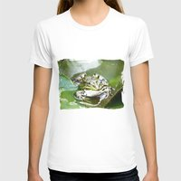 frog T-shirts featuring frog by Karl-Heinz Lüpke