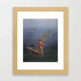 Introducción a la Cuarta Vertical Framed Art Print