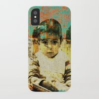 boy iPhone & iPod Cases featuring Boy by Lia Bernini