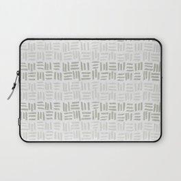 Abstract beige pattern Laptop Sleeve