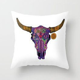 Charlie Road Throw Pillow