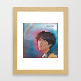 fake euphoria Framed Art Print
