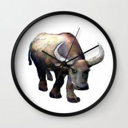 Ox jGibney The MUSEUM Society6 Gifts Wall Clock