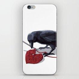 Crowchet iPhone Skin
