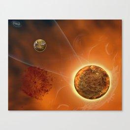 Hot Rock Canvas Print