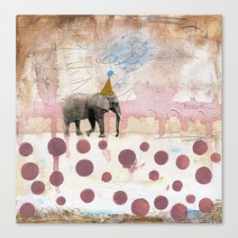 Moving Towards Your Dream Canvas Print