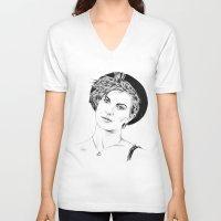 hayley williams V-neck T-shirts featuring Hayley Williams by najidsalihu