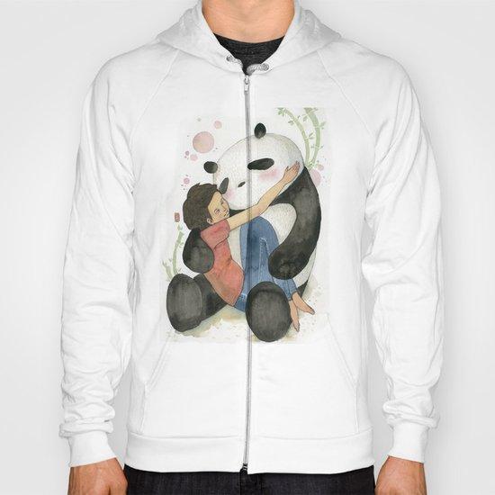 Cuddling with Panda Hoody