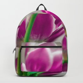 Pink Tulips Backpack