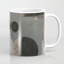 Vintage Eclipse of the Moon Illustration Remix Coffee Mug