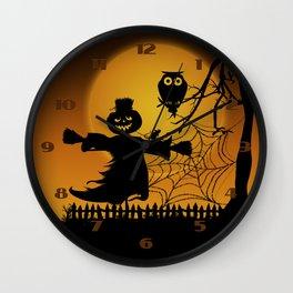 Spooky Halloween 5 Wall Clock