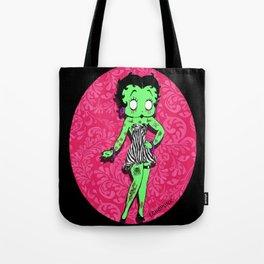 Tattooed Betty Boop Tote Bag