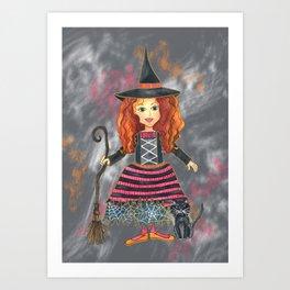 Zelda the Good Witch Art Print