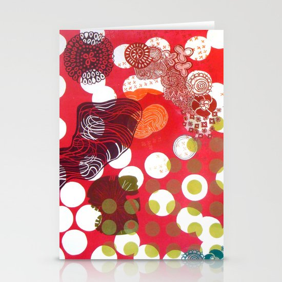 Polka-Dot Stationery Cards