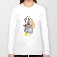 logo Long Sleeve T-shirts featuring Logo by Amy Bannister