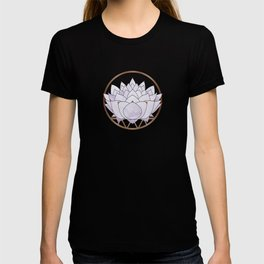 Lavender Lotus Blossom T-shirt