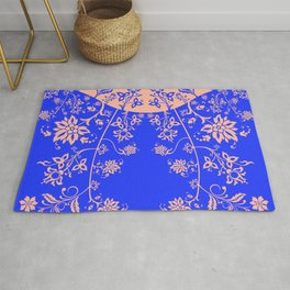 floral ornaments pattern rgip60 Rug