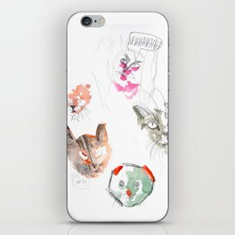 Crazy Cats 2 iPhone Skin
