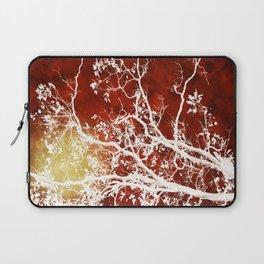 Burgundy Tree Art Laptop Sleeve