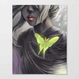 Actia Luna Cordis Canvas Print