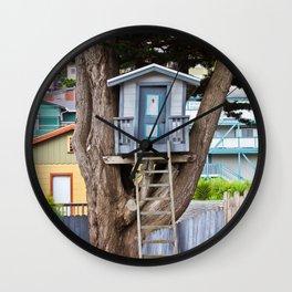 House on the Tree Wall Clock