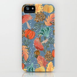 Fall Woodland iPhone Case