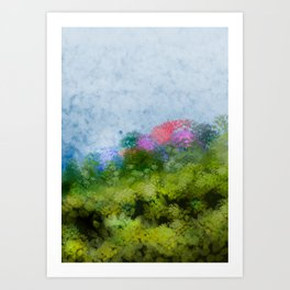 Suddenly, spring (all'improvviso, primavera) Art Print