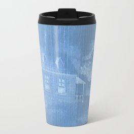 The house of fright Travel Mug
