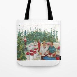 Tomato Growers,Australia             by Kay Lipton Tote Bag