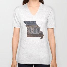 Vintage Missouri Unisex V-Neck