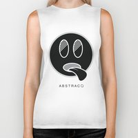 mike wrobel Biker Tanks featuring MIKE by A B S T R A C Q