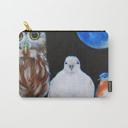 Wisdom Peace and Happiness Carry-All Pouch