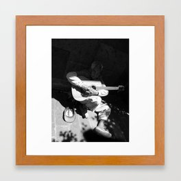 Guitarrista de Guadalajara  Framed Art Print