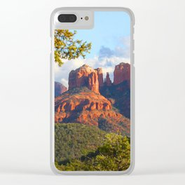 Cathedral Rocks of Sedona Clear iPhone Case