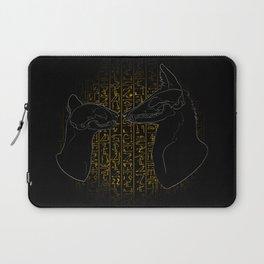 Sacred Anubis & Bastet Laptop Sleeve