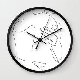 Sensual Erotic Wall Clock