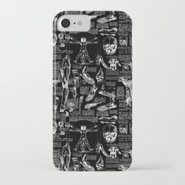 Da Vinci's Anatomy Sketchbook iPhone Case