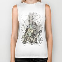 starry night Biker Tanks featuring Starry Night by Heidi Fairwood