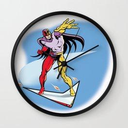 Boomerang Wall Clock