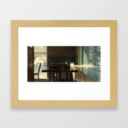 Diner V2 Framed Art Print