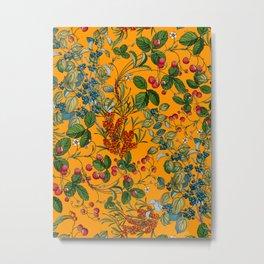 Vintage Garden VII Metal Print