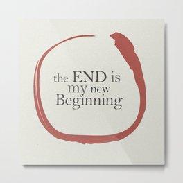 Tiziano Terzani, Bruno Ganz, Germano, The end is my beginning. La fine è il mio inizio, Movie Poster Metal Print