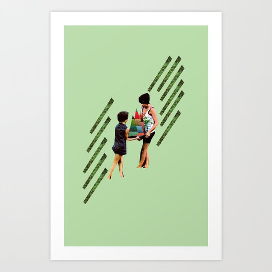 Hold on to the Colors Art Print
