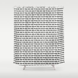 Elegy of Emptiness Shower Curtain