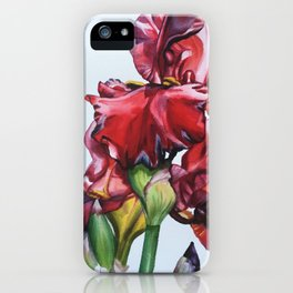 Iris in Spring iPhone Case