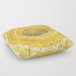 Sun Mandala 4 Floor Pillow