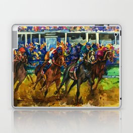 The Race No. 2 by Kathy Morton Stanion Laptop & iPad Skin
