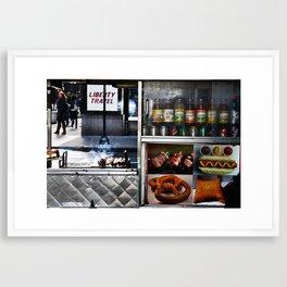 Vendor Framed Art Print